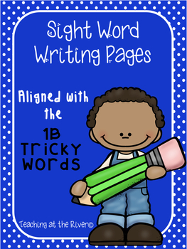 IRLA 1B Tricky/ Power Word Writing Papers