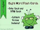 IRLA 1G Power Words Flash Cards - Color and B/W w/ Editable File