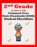 2nd Grade CCSS Student Checklists (Correleated to American