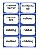 1st Grade 1.60-1.99 U-Word Families Cards (Aligned to Amer