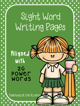 IRLA 2G Power Word Writing Papers