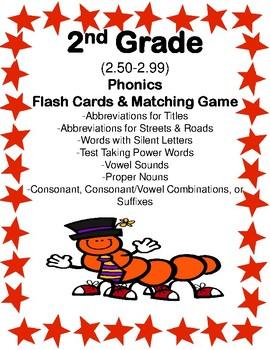 IRLA: 2R - Phonics Flash Cards & Matching Games