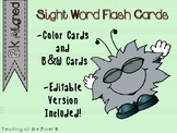 IRLA BK Outlaw Words Flash Cards w/Editable File