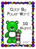 Color by Sight Word Aligned with IRLA's 1G Words from ARC