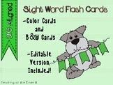 IRLA 2G Power Words Flash Cards- Color and B/W