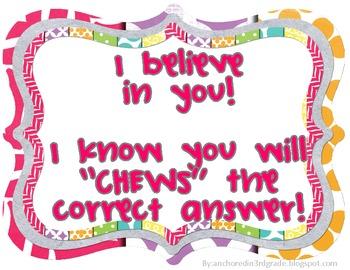 ISAT TESTING Encouragement Posters!