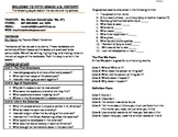 ISN Syllabus: Student Guide to US History