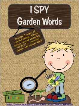 ISPY Garden Words