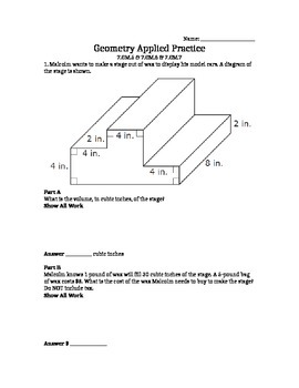 ISTEP Applied Geometry 7th grade