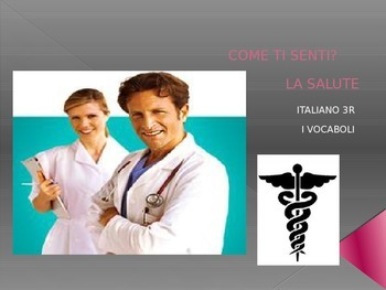 ITALIAN:  La Salute