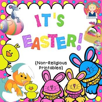EASTER COMMON CORE ACTIVITIES - NON-RELIGIOUS