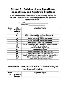 IXL Math ECA