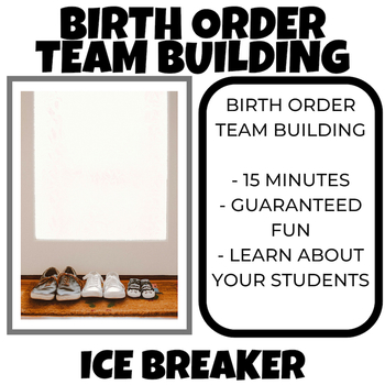 Ice Breaker Activity