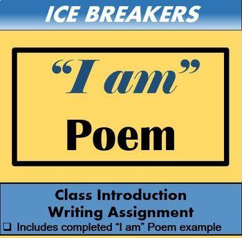 "Ice Breaker - ""I Am"" Poem"
