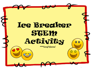 Ice Breaker STEM Activity Emoji themed