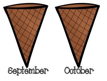 Ice Cream Birthday Bulletin Board Display
