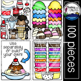 Ice Cream Clipart MEGA Bundle