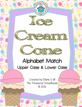 Alphabet ABC Match - Ice Cream