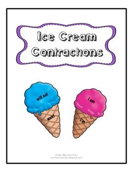 Ice Cream Contraction Match