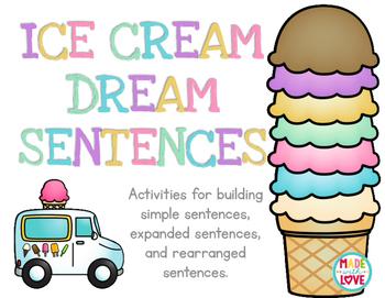 Ice Cream Dream Sentences