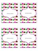 Ice Cream! Editable Tags, Labels, Binder Covers