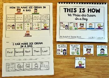 Ice Cream In a Bag Adapted Recipe Book