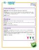 Ice Cream, Lemonade, Popcorn & Shapes Lesson