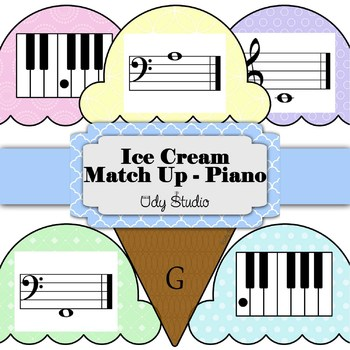 Ice Cream Match Up- Piano