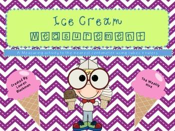 Ice Cream Measurement