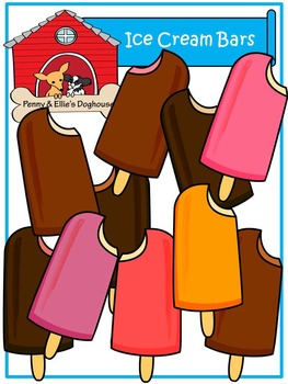 Ice Cream *Penny & Ellie's Doghouse Clipart*