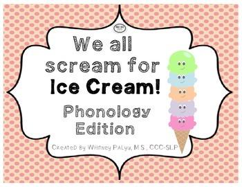Ice Cream Phonology