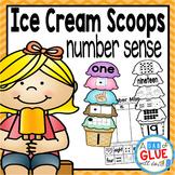 Ice Cream Scoops: Number Sense