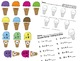 Ice Cream Theme Centers: Math & Literacy