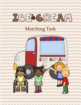 Ice Cream Treat Matching Task