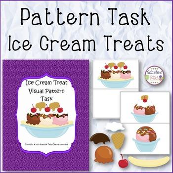 PATTERN TASK Ice Cream Treats