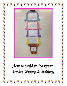 Ice Cream for Everyone! Summer Unit with Math, Reading, Writing