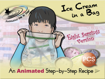 Ice Cream in a Bag (eight servings) - Animated Step-by-Ste