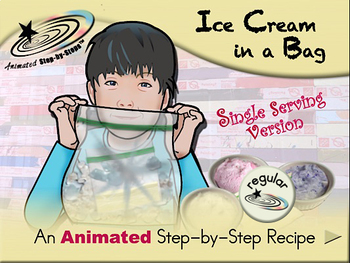 Ice Cream in a Bag (single serving) - Animated Step-by-Ste