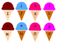 Ice Cream letter mathcing game