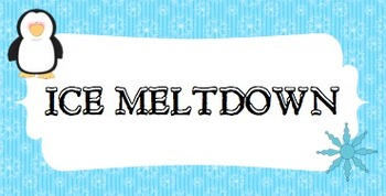 """""""Ice Meltdown"""" Game- Practicing Words with Blends"""