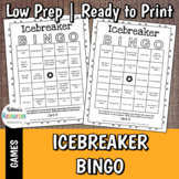 Icebreaker BINGO for Classrooms