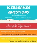 Icebreaker Questions for High School