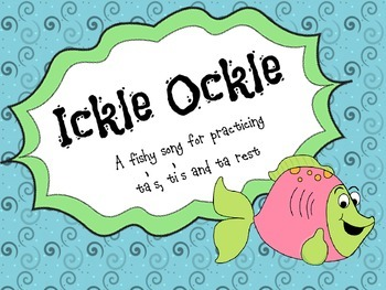 Ickle Ockle - Introducing & practicing ta rest