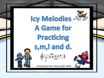 Icy Melodies - A Game to Practice so,mi,la and do (staff n