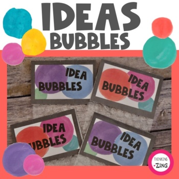 Idea Bubbles Brainstorming Activity