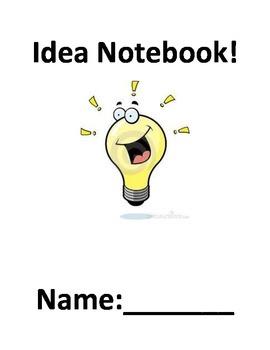 Idea Notebook - Writers workshop