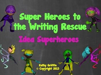 Idea Superheroes Mini Video for Writing