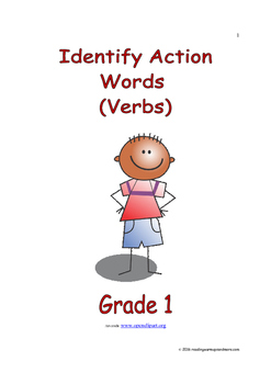 Identify Action Words (Verbs): Introduce/Practice/Assess