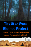 Identify Biomes with all six Star Wars Movies - Project & Rubric