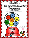 Identify High Frequency Words in Spanish palabras del uso